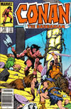 Cover Thumbnail for Conan the Barbarian (1970 series) #180 [Newsstand Edition]