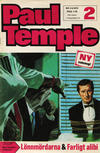 Cover for Paul Temple (Semic, 1970 series) #2/1970