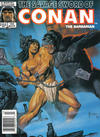 Cover for The Savage Sword of Conan (Marvel, 1974 series) #134 [Newsstand Edition]