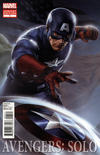 Cover for Avengers: Solo (Marvel, 2011 series) #1 [Movie Cover Variant featuring Captain America]