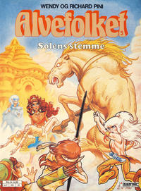 Cover Thumbnail for Alvefolket (Semic, 1985 series) #5 - Solens stemme [2. opplag]