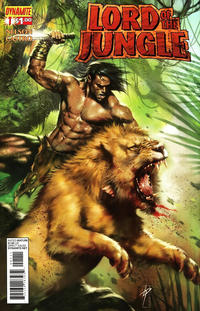 Cover for Lord of the Jungle (2012 series) #1 [Cover A - Alex Ross]