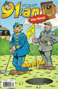 Cover Thumbnail for 91:an (Egmont, 1997 series) #17/2008