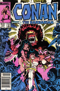 Cover Thumbnail for Conan the Barbarian (Marvel, 1970 series) #152 [Newsstand Edition]