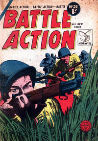 Cover Thumbnail for Battle Action (Horwitz, 1954 ? series) #21