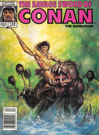 Cover Thumbnail for The Savage Sword of Conan (Marvel, 1974 series) #135 [Newsstand Edition]