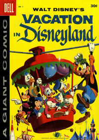 Cover Thumbnail for Walt Disney's Vacation in Disneyland (Dell, 1958 series) #1 [30-Cent Variant]
