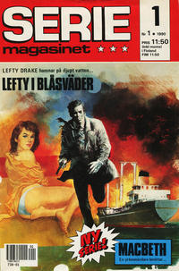 Cover Thumbnail for Seriemagasinet (Semic, 1970 series) #1/1990