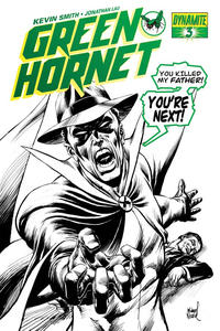 Cover Thumbnail for Green Hornet (Dynamite Entertainment, 2010 series) #3 [Michael Netzer Ultra Limited Death Cover]