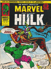 Cover Thumbnail for The Mighty World of Marvel (Marvel UK, 1972 series) #145