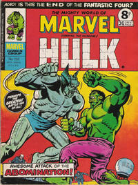 Cover for The Mighty World of Marvel (Marvel UK, 1972 series) #156