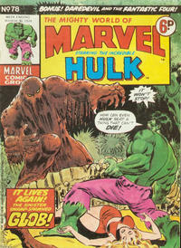 Cover Thumbnail for The Mighty World of Marvel (Marvel UK, 1972 series) #78