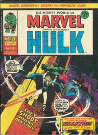 Cover Thumbnail for The Mighty World of Marvel (Marvel UK, 1972 series) #112