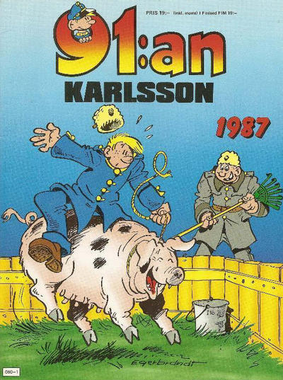 Cover for 91:an Karlsson [julalbum] (Semic, 1981 series) #1987