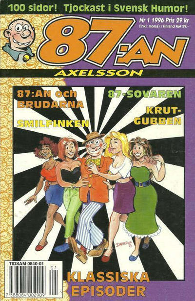 Cover for 87:an Axelsson (Semic, 1994 series) #1/1996
