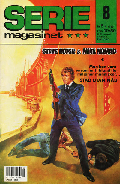 Cover for Seriemagasinet (Semic, 1970 series) #8/1989