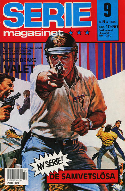Cover for Seriemagasinet (Semic, 1970 series) #9/1989