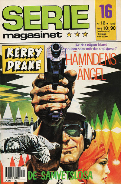 Cover for Seriemagasinet (Semic, 1970 series) #16/1989