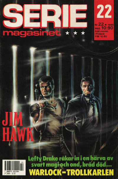 Cover for Seriemagasinet (Semic, 1970 series) #22/1989
