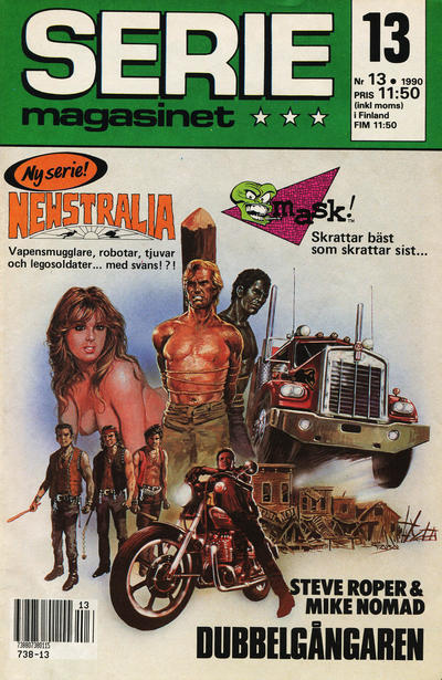 Cover for Seriemagasinet (Semic, 1970 series) #13/1990