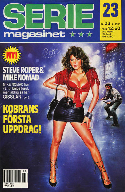 Cover for Seriemagasinet (Semic, 1970 series) #23/1990