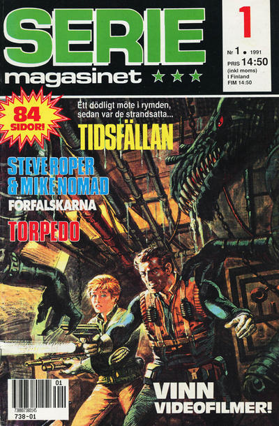 Cover for Seriemagasinet (Semic, 1970 series) #1/1991