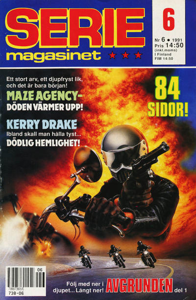 Cover for Seriemagasinet (Semic, 1970 series) #6/1991