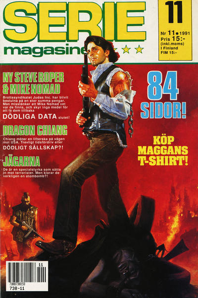 Cover for Seriemagasinet (Semic, 1970 series) #11/1991