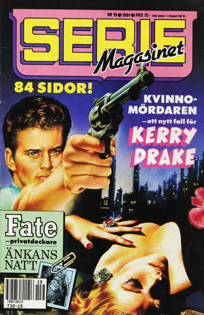 Cover for Seriemagasinet (Semic, 1970 series) #19/1991