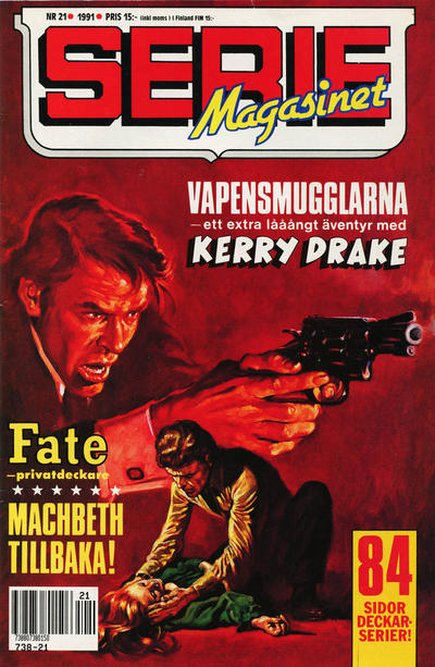 Cover for Seriemagasinet (Semic, 1970 series) #21/1991