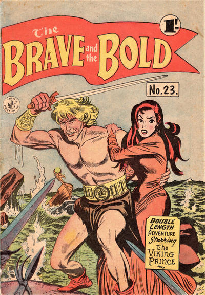 Cover for The Brave and the Bold (K. G. Murray, 1956 series) #23