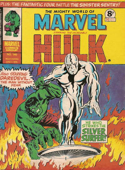 Cover for The Mighty World of Marvel (Marvel UK, 1972 series) #140