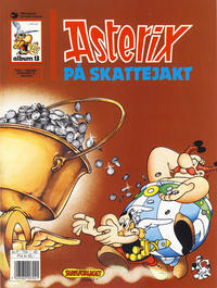 Cover for Asterix (1969 series) #13 - Asterix på skattejakt [7. opplag]