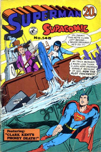Cover Thumbnail for Superman Supacomic (K. G. Murray, 1959 series) #145