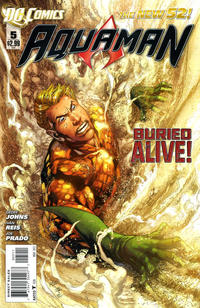 Cover Thumbnail for Aquaman (DC, 2011 series) #5
