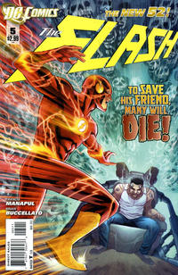 Cover Thumbnail for The Flash (DC, 2011 series) #5