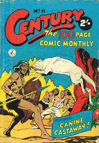 Cover Thumbnail for Century, The 100 Page Comic Monthly (K. G. Murray, 1956 series) #11