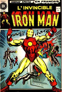 Cover for L' Invincible Iron Man (Editions Héritage, 1972 series) #8