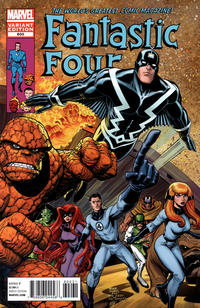 Cover for Fantastic Four (2012 series) #600 [Direct Market Variant Cover by Arthur Adams]