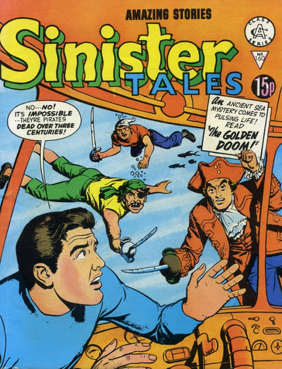 Cover for Sinister Tales (1964 series) #160