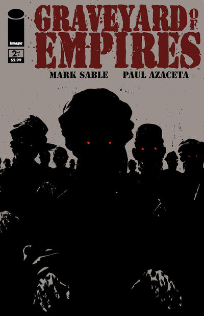 Cover for Graveyard of Empires (Image, 2011 series) #2