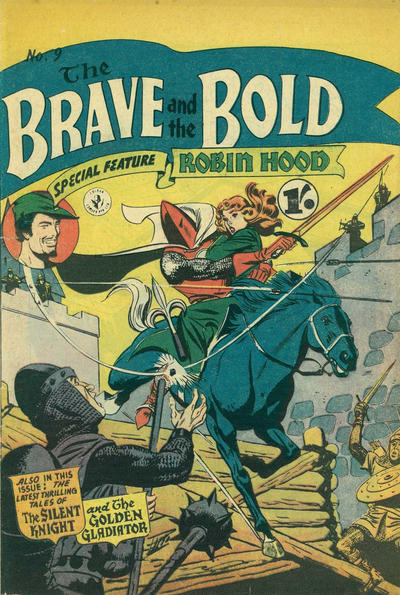 Cover for The Brave and the Bold (K. G. Murray, 1956 series) #9