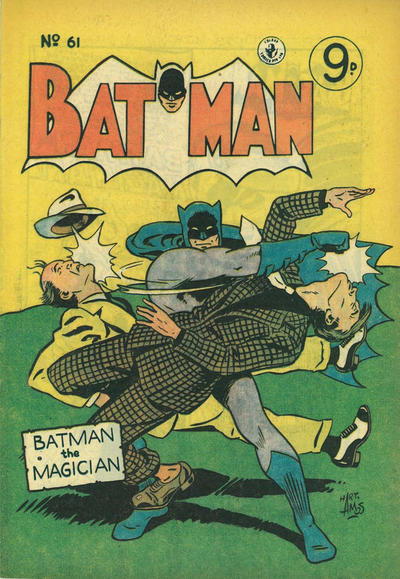 Cover for Batman (1950 series) #61
