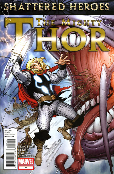 Cover for The Mighty Thor (Marvel, 2011 series) #9 [direct edition]