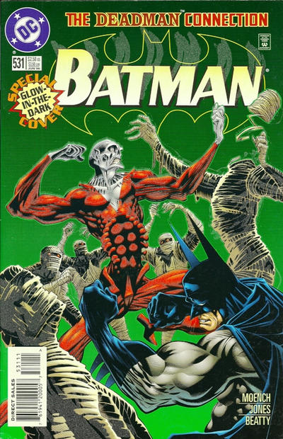 Cover for Batman (DC, 1940 series) #531 [Glow-in-the-dark]