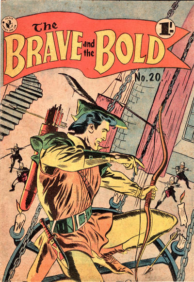 Cover for The Brave and the Bold (K. G. Murray, 1956 series) #20
