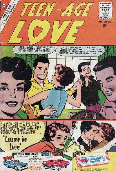 Cover for Teen-Age Love (Charlton, 1958 series) #16