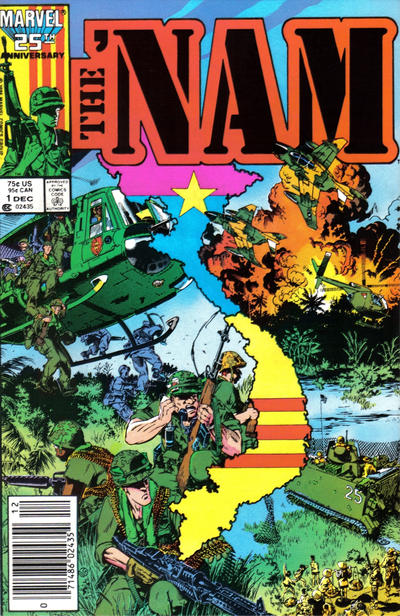 Cover for The 'Nam (Marvel, 1986 series) #1 [Newsstand Edition]