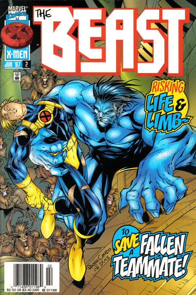 Cover for Beast (Marvel, 1997 series) #2 [Direct Edition]