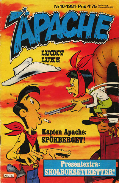 Cover for Apache (Semic, 1980 series) #10/1981